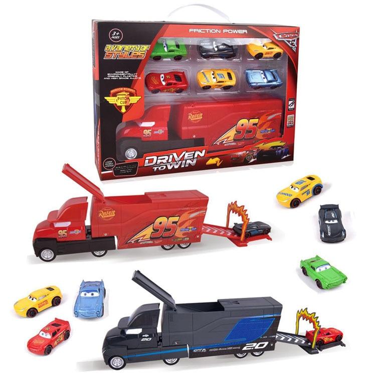 Детский инерционный контейнер из сплава Tuba, грузовик, универсальная мобилизация, игрушки Mcqueen, автомобильный салон, костюм типа для девочек