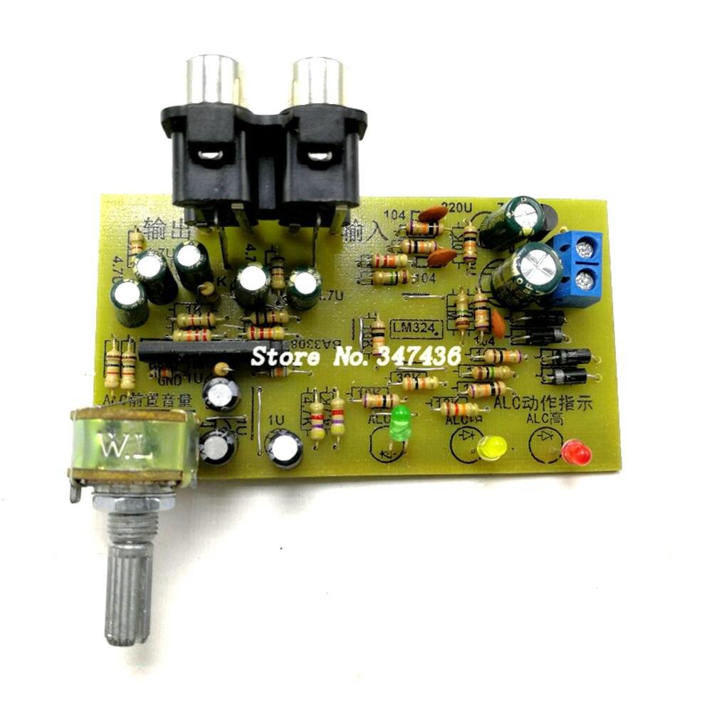 Placa automática da estabilização do volume da placa de circuito do controle nivelado da alc