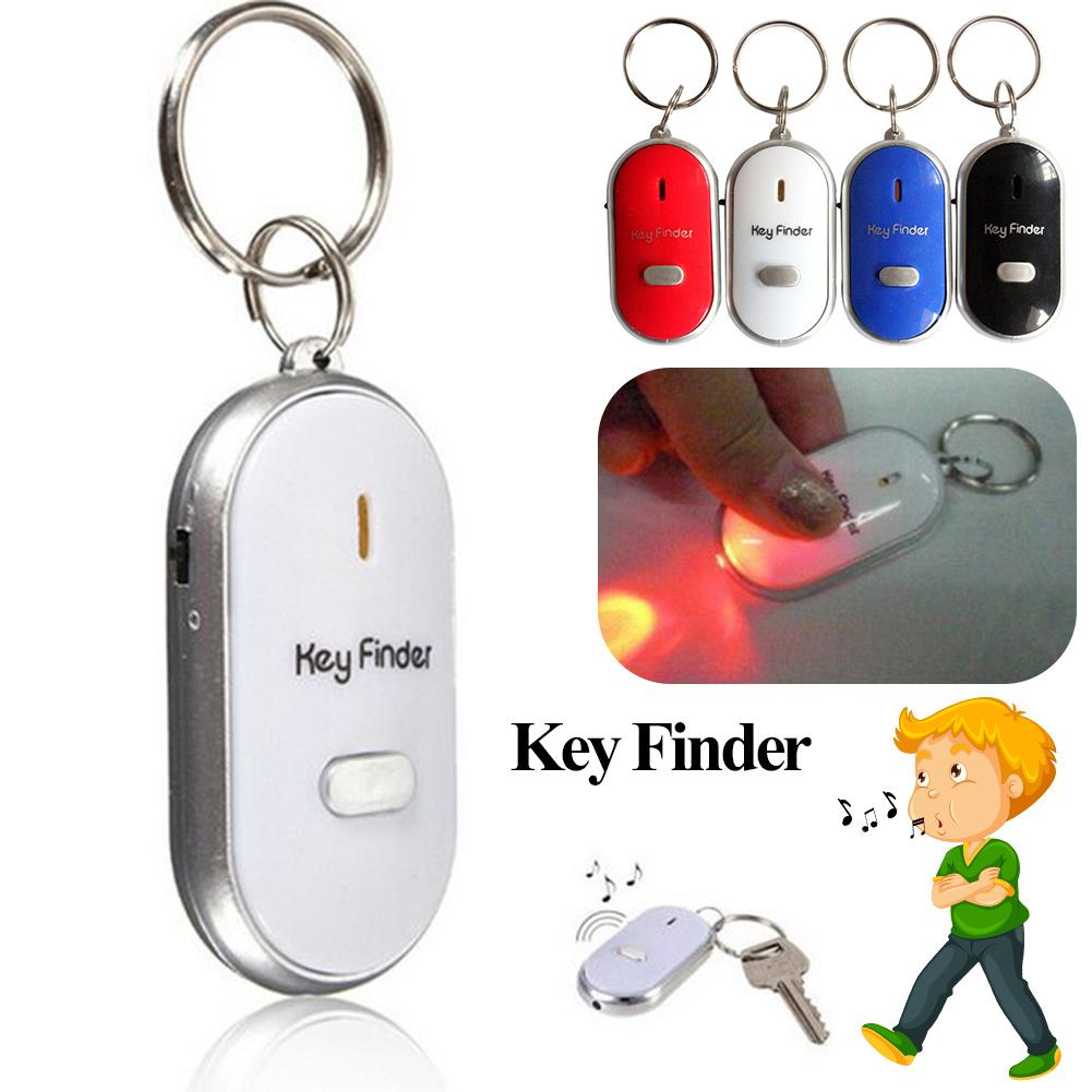 Clave llavero buscador de silbato de edad Anti-Perdida de alarma intermitente.