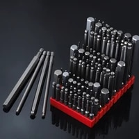 s2 alloy steel hexagon socket ball head and flat head electric screwdriver bit set hand tool set