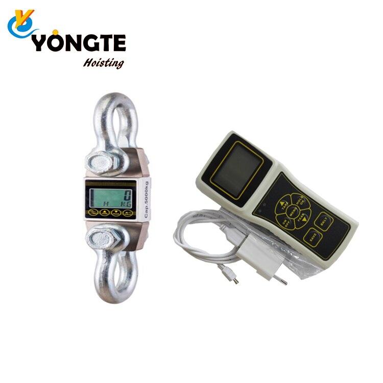 Indicador de carga de grúa de buena calidad 3t ocs dinamómetro digital inalámbrico