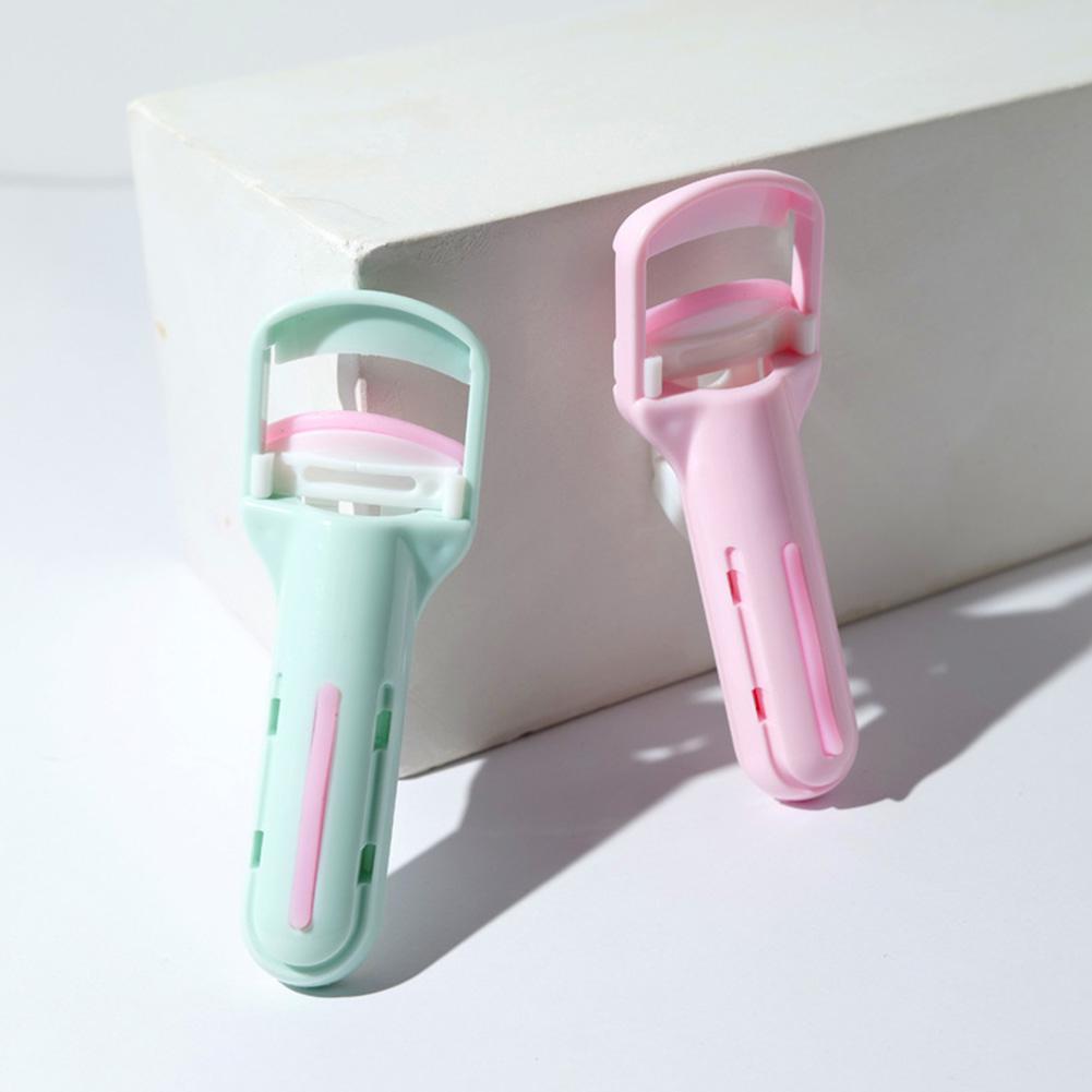 BellyLady 2 colores portátil pestañas con rulos Clip natural larga duración belleza maquillaje cosmético herramienta falsa Eyelashe