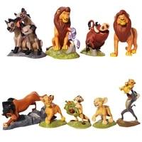 9pcsset disney the lion king simba nala timon model figure pvc action figures classic toys best birthday gifts for kid