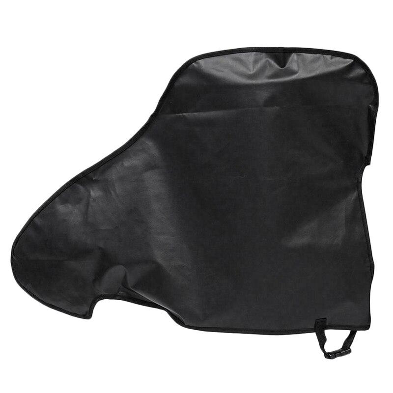Universal à prova dwaterproof água preto caravana reboque engate capa chuva neve poeira dustproof protetor para rv tailer