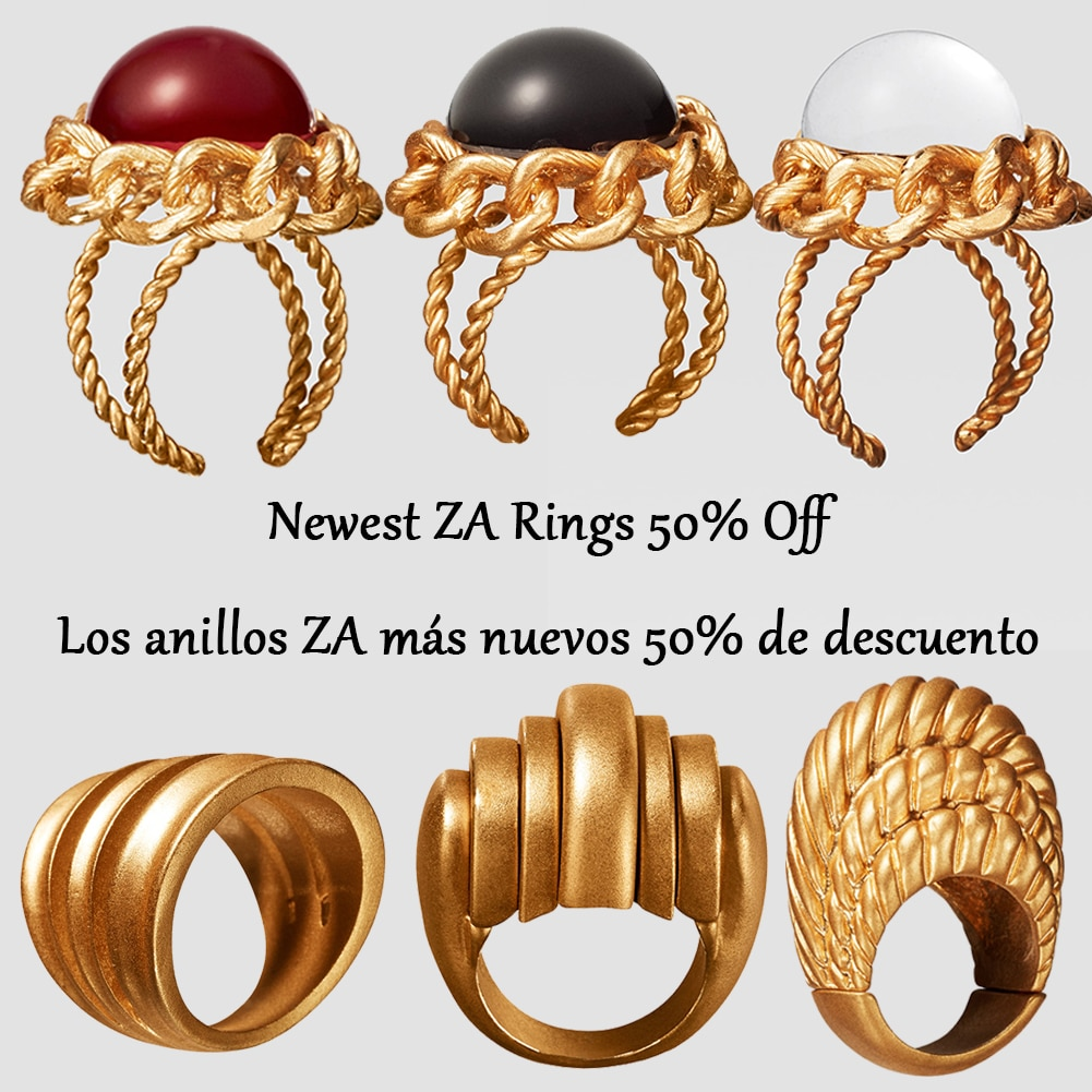 Moda 2019 México anillo anillos de piedra para las mujeres Vintage anillos para las mujeres romántico elegante anillo para dedo circular regalos de fiesta venta al por mayor