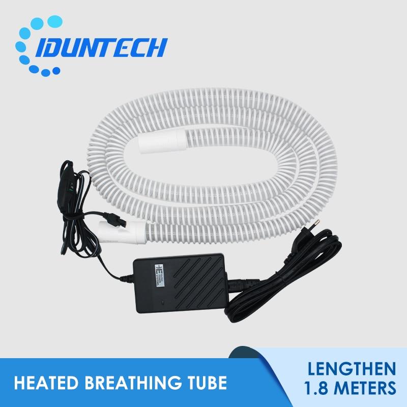 CPAP Heated Tube Pipe Hose 70 Inch 1.8M  APAP BiPAP Respirator Heater Tubing For Sleeping Apnea Anti Sorning Free Shipping