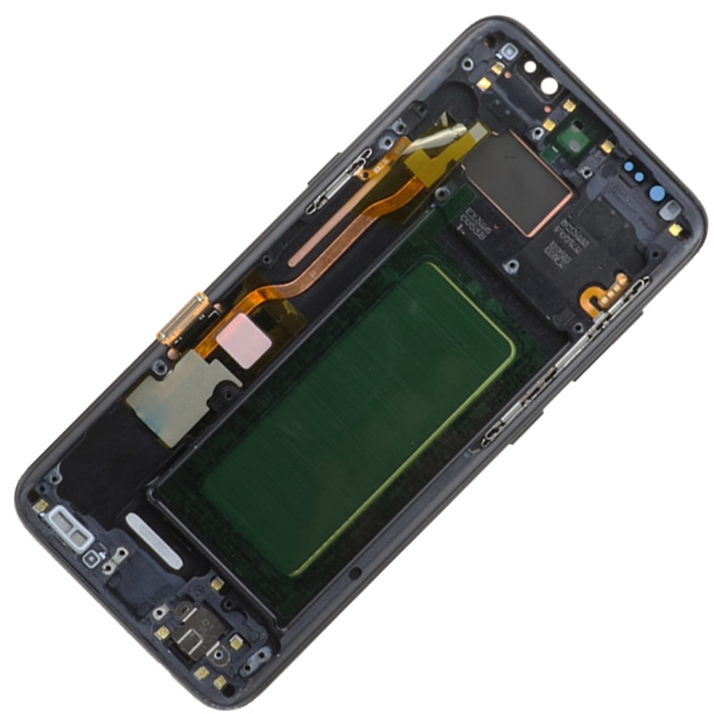 Original G950F LCD For Samsung Galaxy S8 Display With Black Frame 5.8
