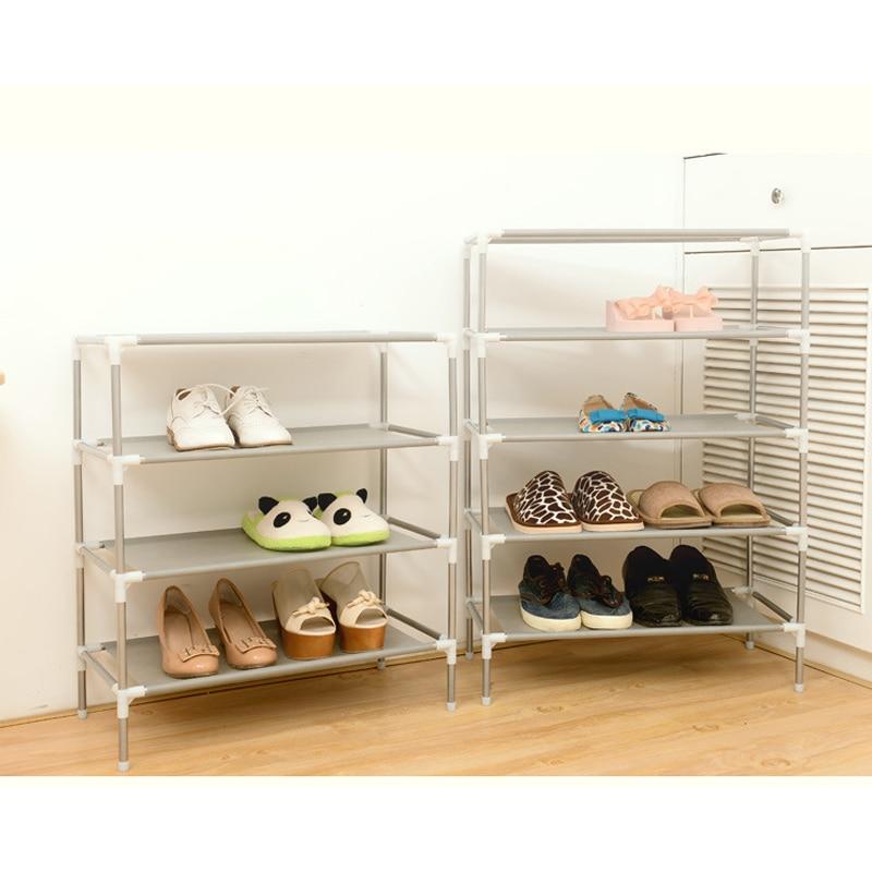 Estante doméstico para calzado Organizador De Zapatos, hogar, sencillo, multicapa, Organizador De...