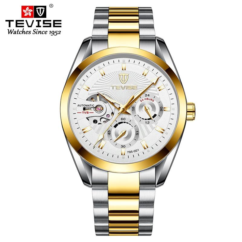 3ATM Waterproof Luxury Men Mechanical Wristwatch Stainless Steel Watch Sapphire Glass Men Watches enlarge