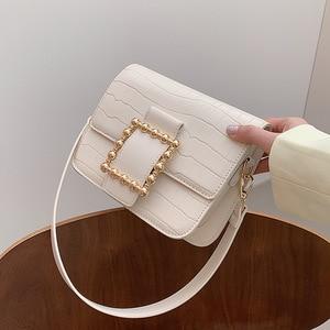 Summer 2021 New Trendy Fashion Texture Messenger Bag Single Shoulder Armpit Small Square Bag Purses and Handbags Luxury