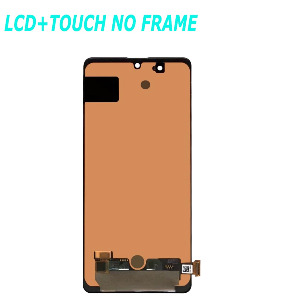 Original AMOLED For Samsung Galaxy A71 LCD Display Touch Screen Digitizer Sensor Assembly For Samsung A71 A715 A715F A715FD LCD enlarge