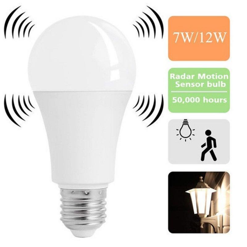 E27 Weiß Smart Sensor Led-lampe Lampe Auto Empfindliche 5W 7 W 9W 12W Led-leuchten Hause decor