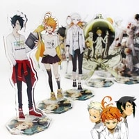 the promised neverland animation products anime cosplay character humanoid ornament decoration 2021 gift for boys and girls
