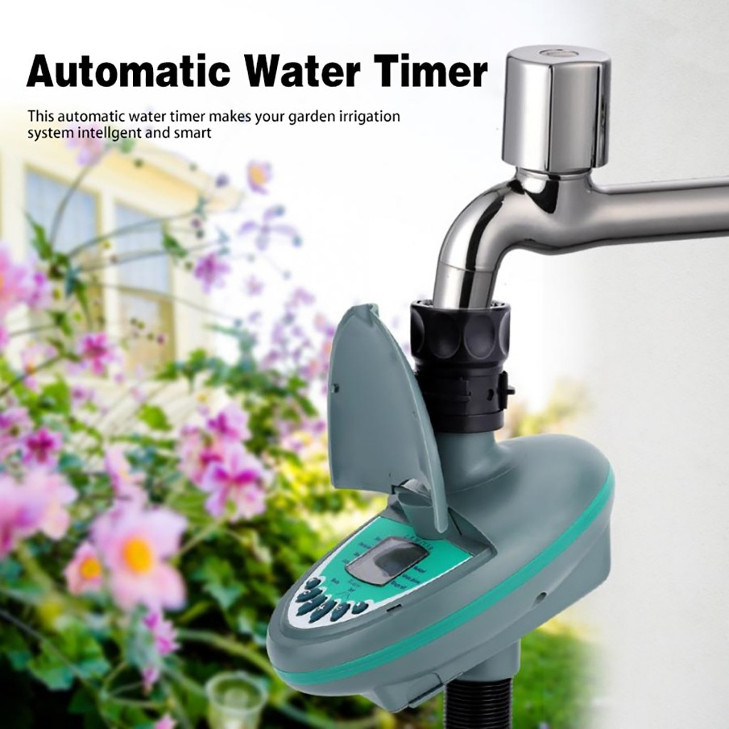 Gardening automatic watering device timing watering controller family balcony intelligent timing drip irrigation pot system 30D5