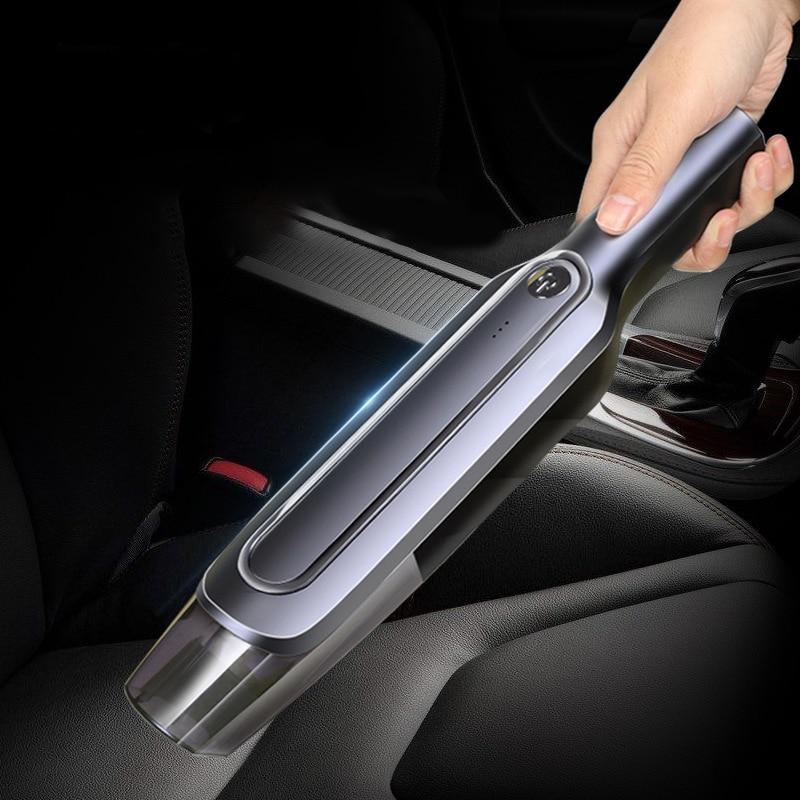 Автомобильный Ручной портативный пылесос для влажной и сухой уборки мощный автомобильный пылесос для небольших автомобилей