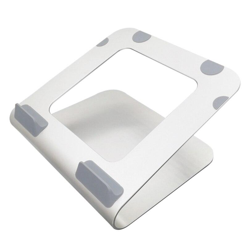 كمبيوتر محمول قوس سبائك الألومنيوم قوس المبرد هو مناسبة لسطح المكتب 360 درجة الدورية من 10-17 بوصة كمبيوتر محمول