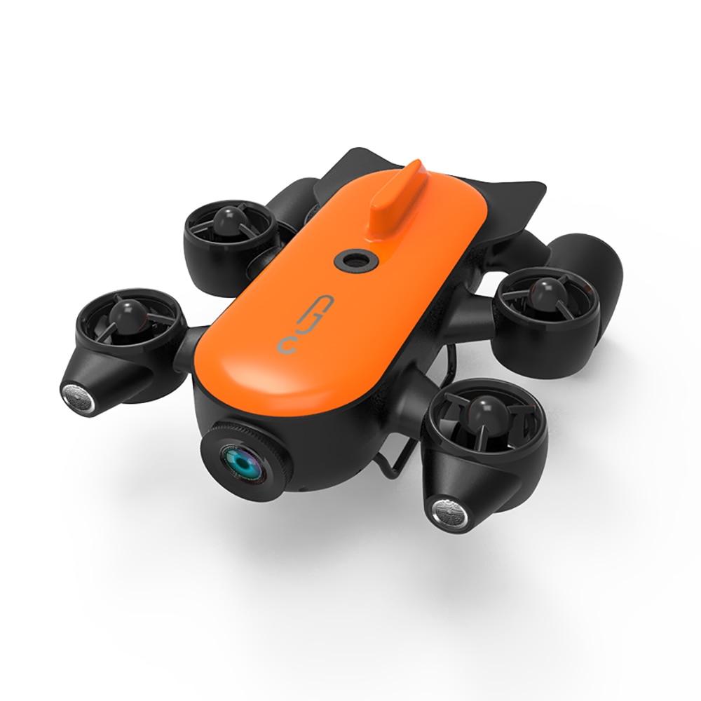 Geneinno-Robot subacuático Titan, Dron con inteligencia submarina, detección de rescate, de 160 ° DE ÁNGULO AMPLIO FOV, cámara 4K de movimiento de 360 °, T1 RC