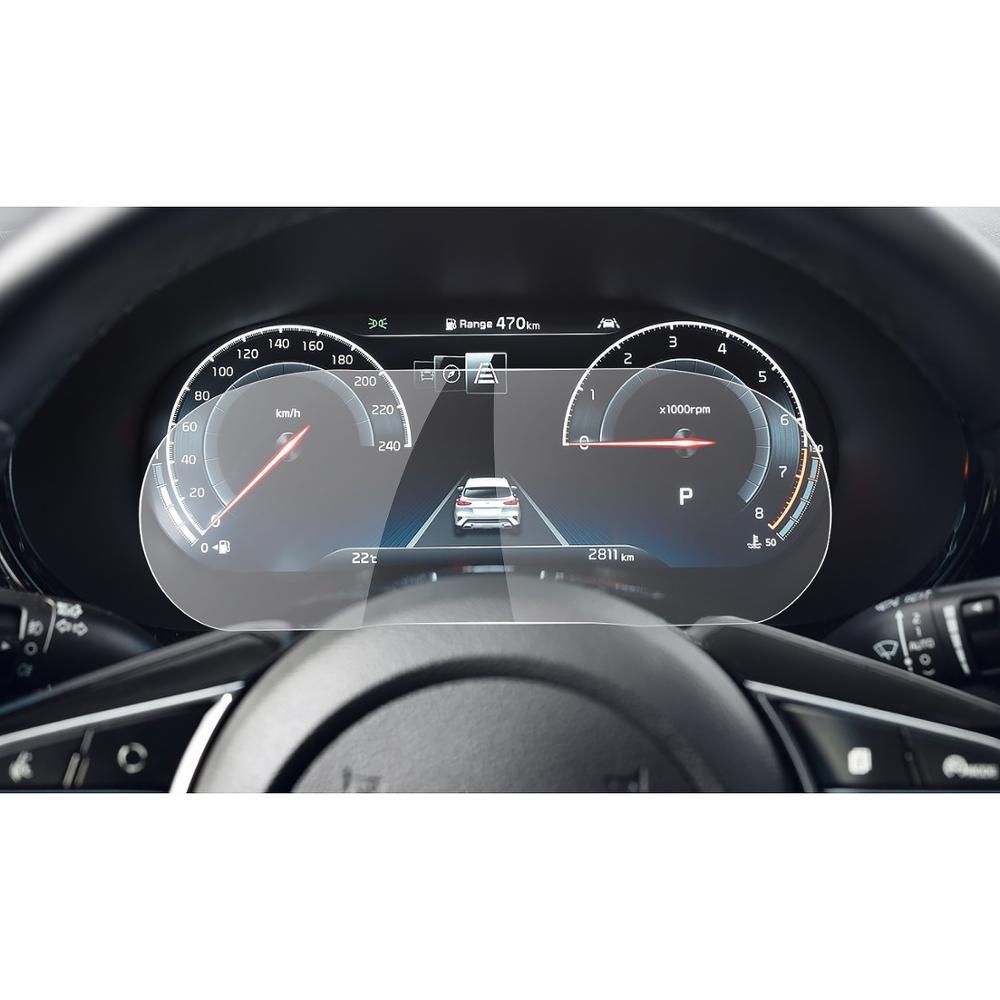 Защитная пленка RUIYA для Kia XCeed 2020, ЖК-дисплей для панели инструментов, аксессуары для интерьера автомобиля