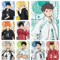 haikyuu anime poster character volleyball boy canvas painting print cuadros art wall modern home living room decoration frameles