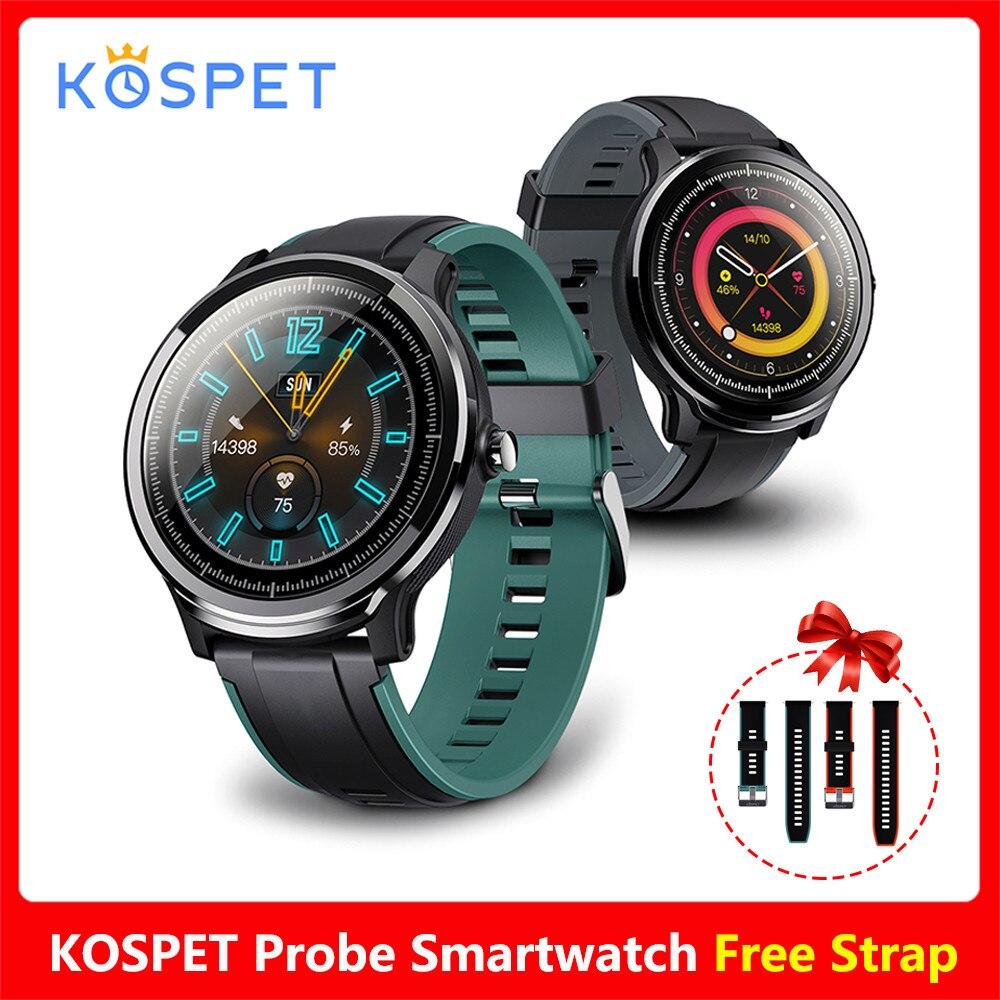 [해외] 새로운 KOSPET PROBE IP68 방수 스마트 워치 24 시간 심장 박동 수면 모니터링 스포츠 모드 Smartwatch
