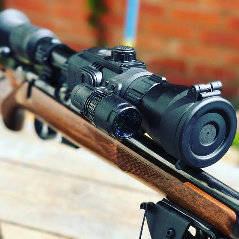 Yukon rt 4.5x42/6x50 visão noturna riflescope tático dispositivo de alta definição digital infravermelho caça visão noturna óptica escopo