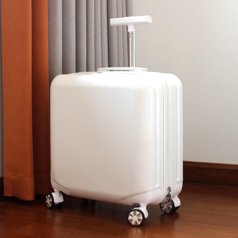 Trolley case boarding code box luggage case universal wheel unisex travel case business trip luggage stewardess case box