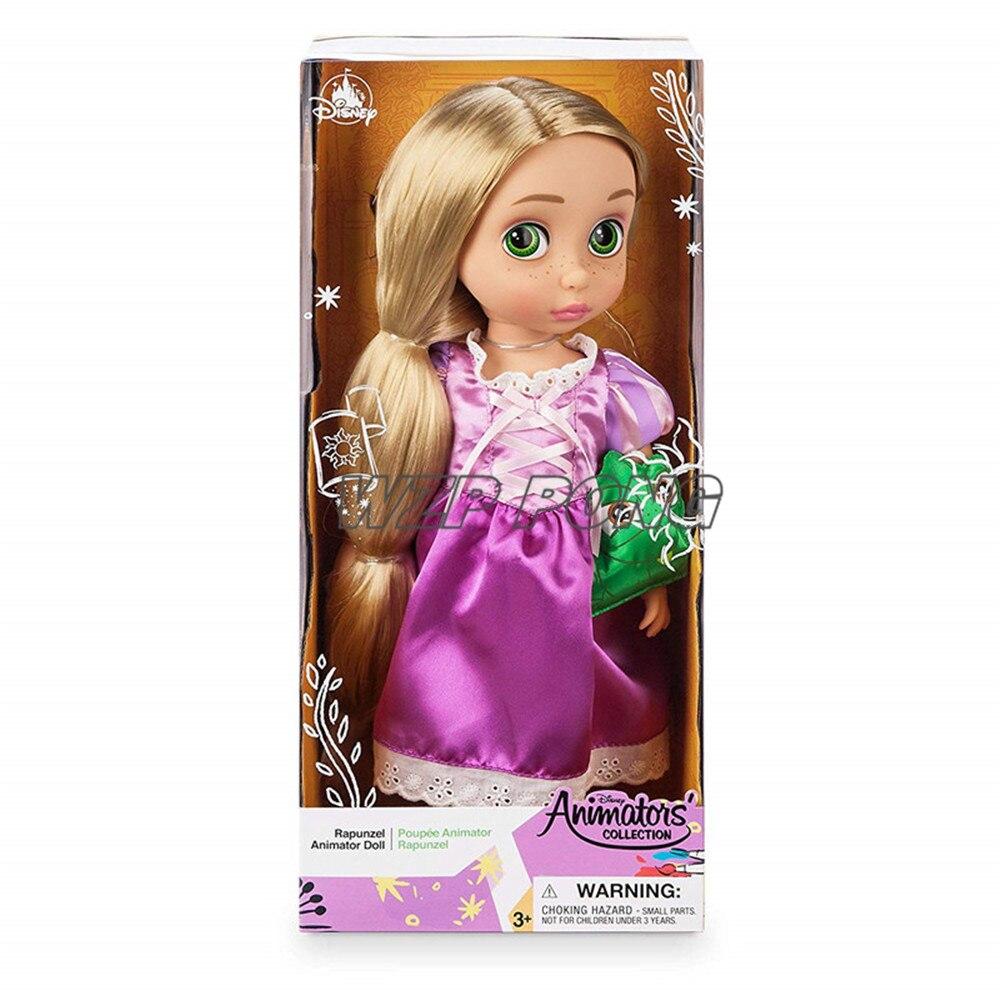 40cm enredados Disney princesa Rapunzel articulación movible figuritas muñecas juguetes PVC MODELO DE figura de acción para niños regalo