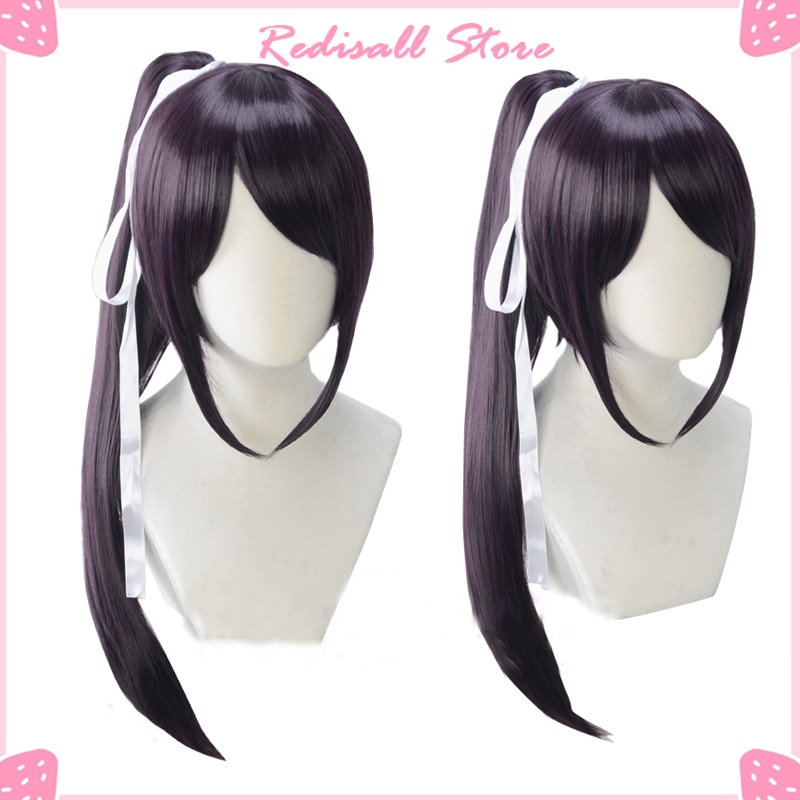 Cosplay Wig Sayaka Igarashi Synthetic Hair Heat Resistant Base Wig Pigtail Straight Long Adult Women