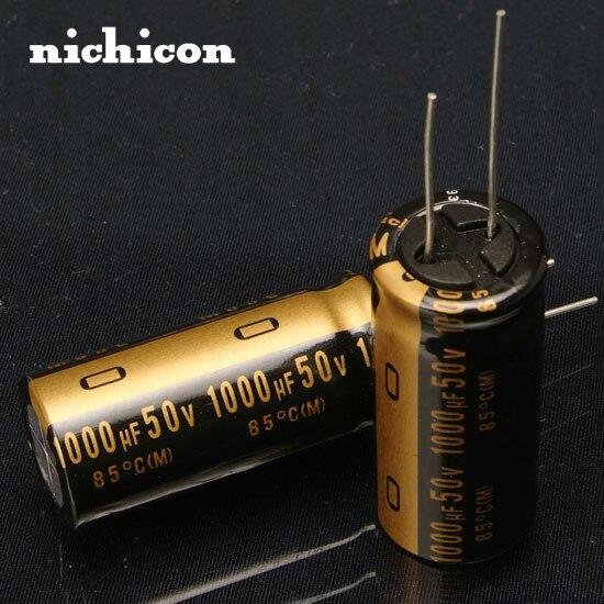 2 uds envío gratis NICHICON KZ de audio condensador 1000u/50 v 1000UF
