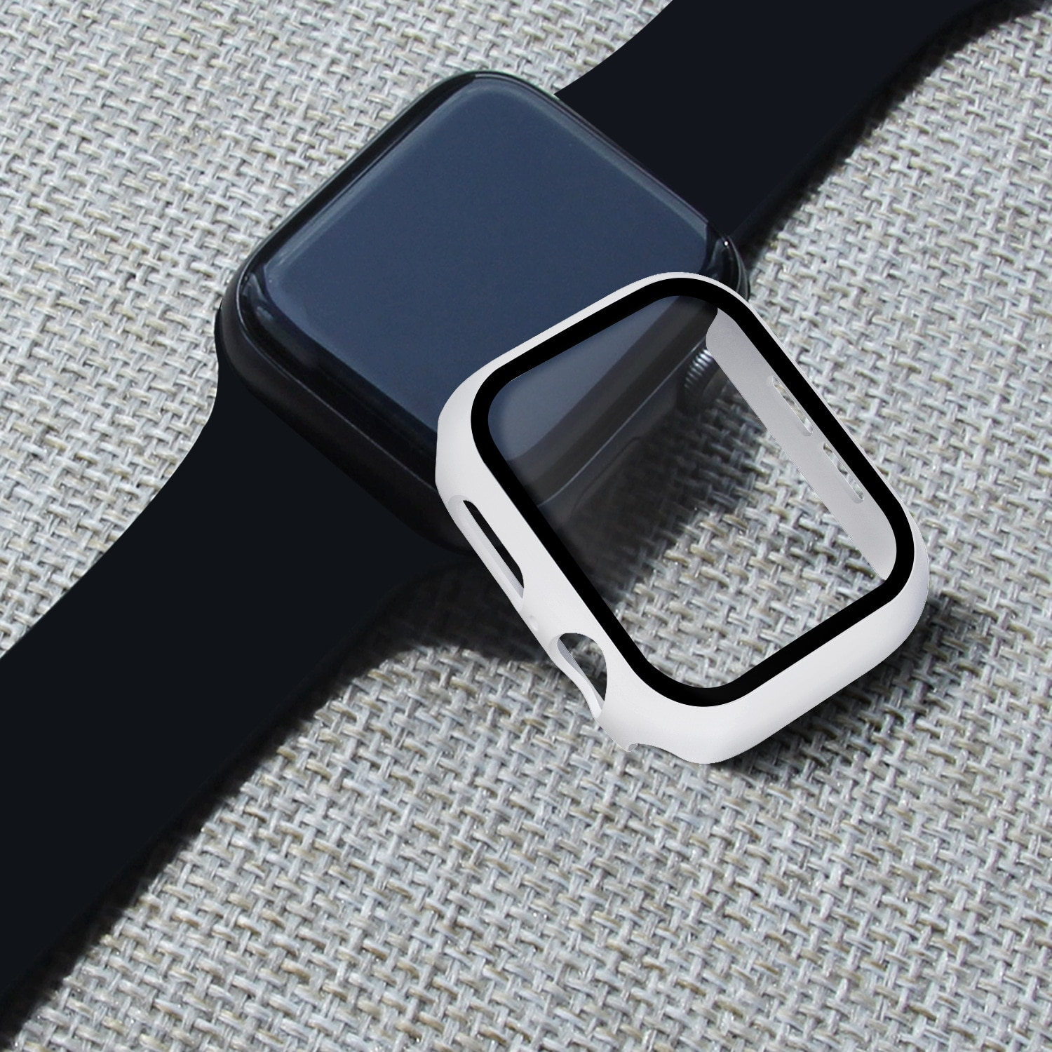 case for apple watch series 6 5 4 3 2 1 se band all around ultra thin screen protector cover iwatch case 44mm 40mm 42mm 38mm Glass+case For Apple Watch series SE 6 5 4 3 2 1 44mm 40mm iWatch Bumper Screen Protector Cover 42mm 38mm for Apple Watch Case