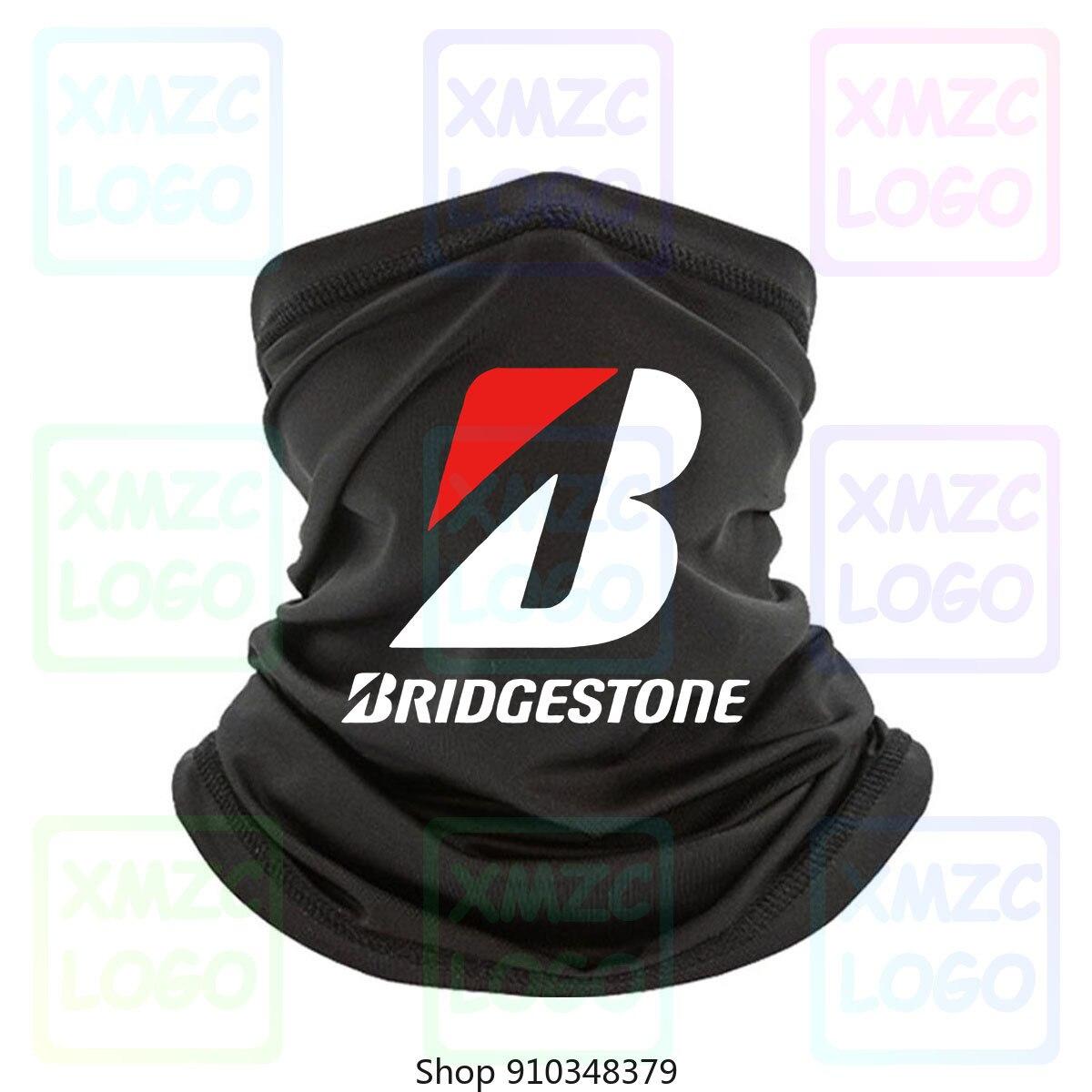 Bridgestone coche de carreras Offroad deriva negro camisetas ¡Blanco listo! Gudal, diadema, pañuelo, pañuelo, calentador de cuello, mujeres, hombres