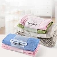 1pcs self adhesive roll baler clothing finishing strapping clothing sorting storage baler household clothing storage belt tools