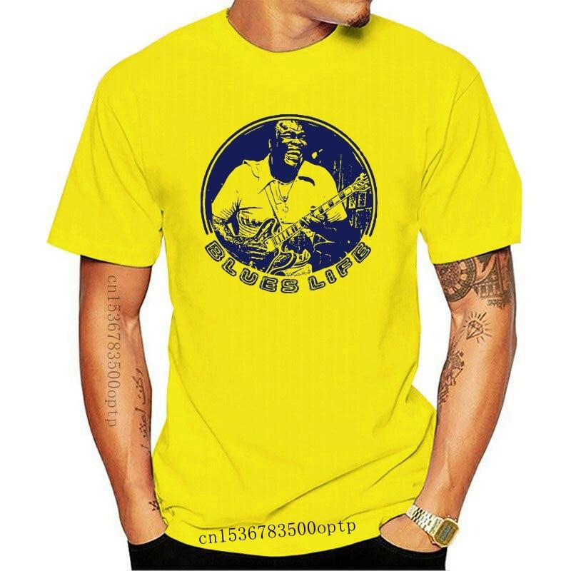 New 2021 Freddie King Blues Guitarist Men's T Shirt White Color Sizes S M L XL 2XL