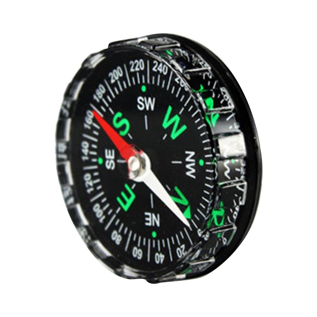 Simple Light Compasses Compass Travel Camping Good Helper Outer Diameter 4.5cm Mini