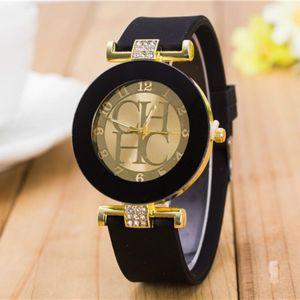 Женские кварцевые часы со стразами, простые повседневные наручные часы со стразами, с кожаным ремешком, 2018