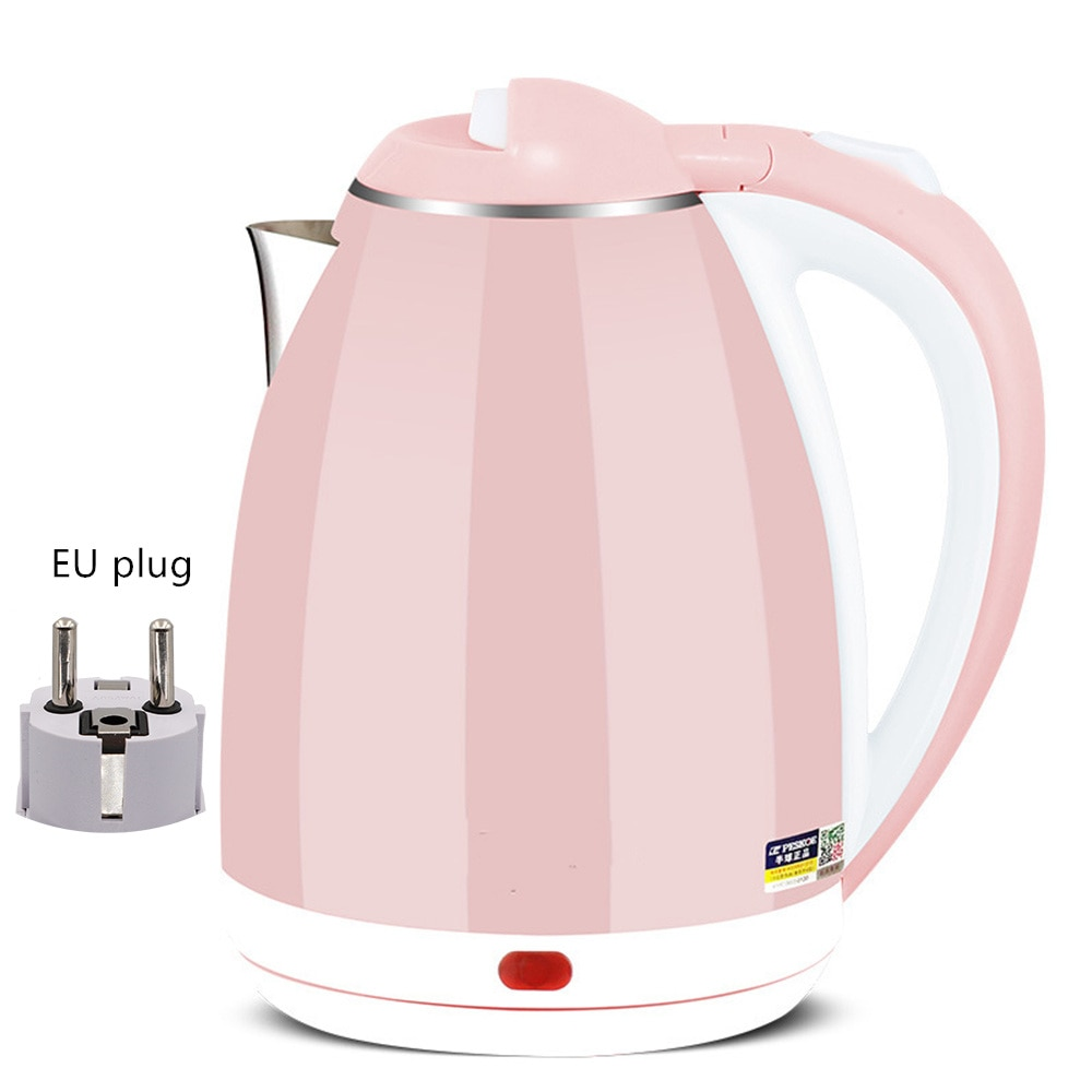 Electric Kettle Cordless Water Pot 1500W-2000W Stainless Steel Heating Electric Water Boiler Water H