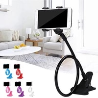 mobile lazy bracket two clamp flexible phone stand holder for cellphone support