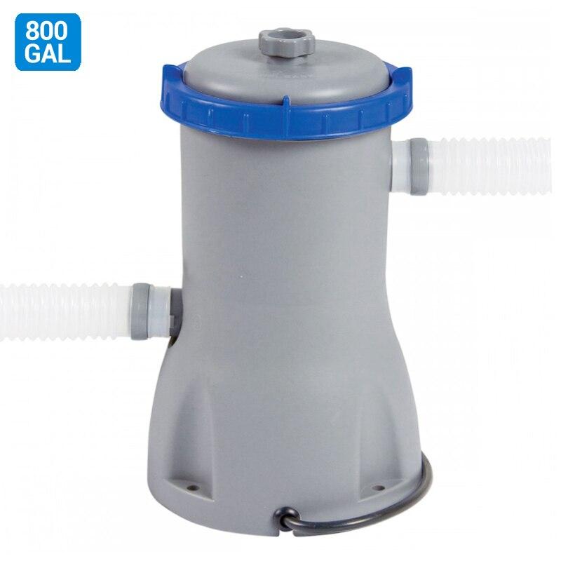 800GAL pompa Filtro della pompa Filtro della Piscina 58386 FlowClear piscina per 18ft