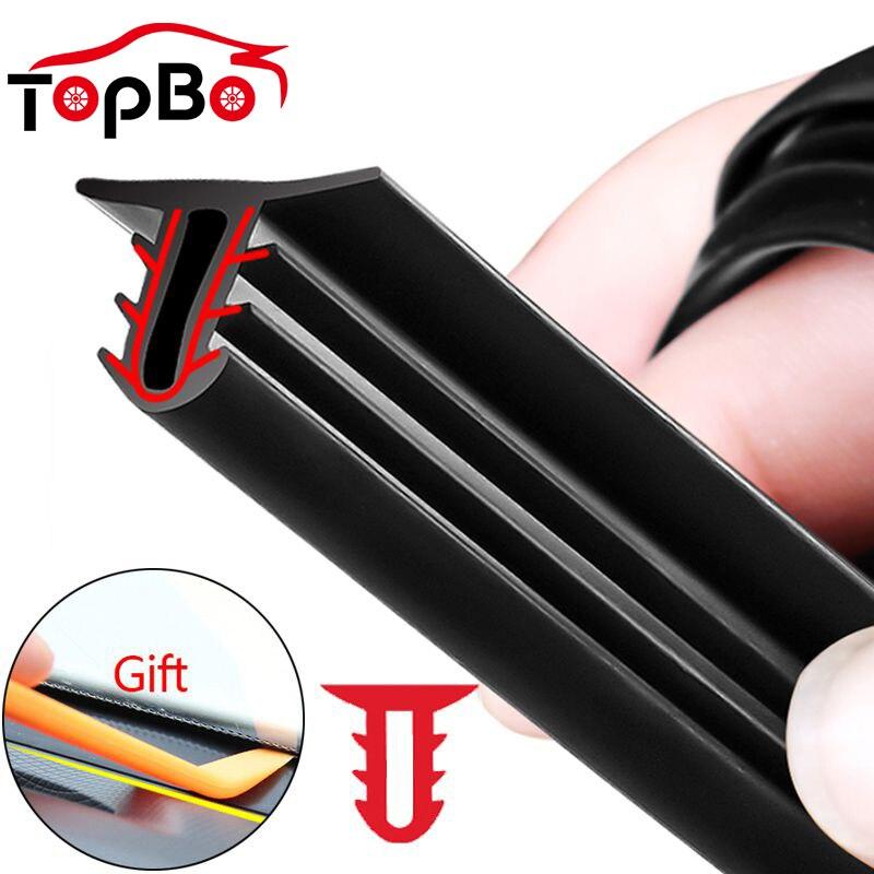 160 см Универсальный U-образный автомобильный резиновый герметик для лобового стекла автомобиля Звукоизоляционная резиновая уплотнительна...