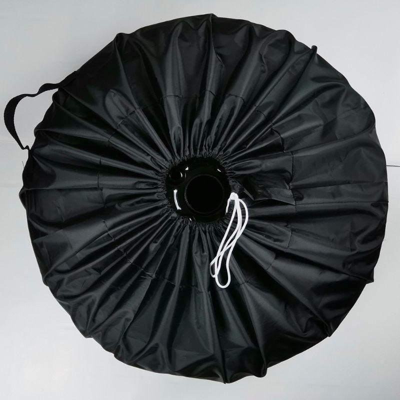 Universal carro suv caso capa de pneu pneu de reposição roda saco pneu de reposição capa de armazenamento tote poliéster oxford pano tafetá poliéster