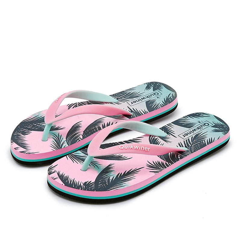 Nova-chanclas para mujer, moda exterior, antiderrapante, sandalias, pantuflas frescas de verano, 2021