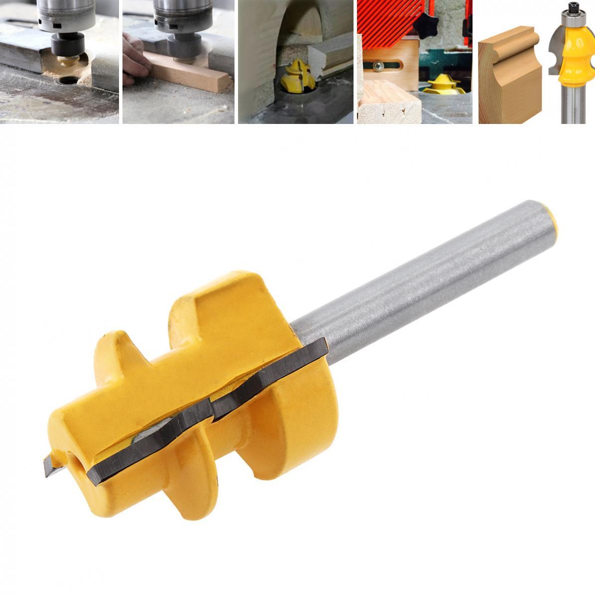 Milling Cutter 1 / 4 Shank Slant Angle Cutter Trimming Machine Cutter Head Boring Cutter Angle Cutter
