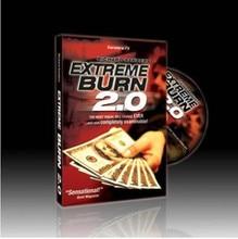 Extreme Burn 2.0 avec DVD & Gimmick-tours de magie, gros plan, accessoires de magie, comédie, accessoires, Illusions, jouets de magicien