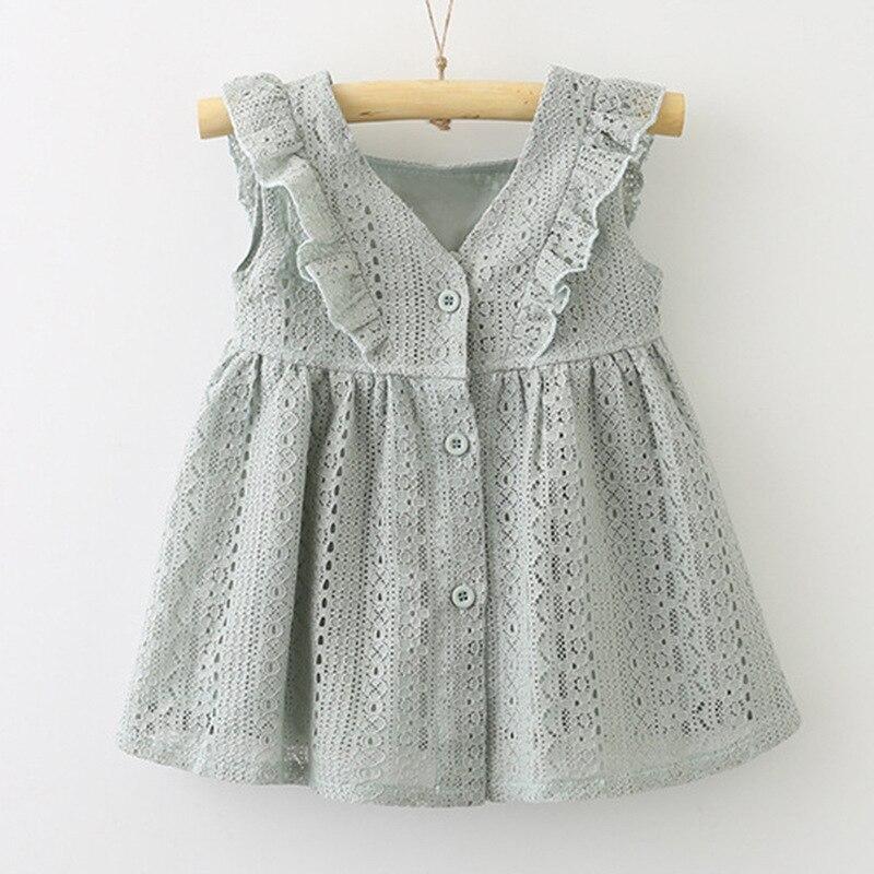Kinder tragen sommer spitze Sommer Blume Kleid Mädchen PrincessGirl Party Tragen Tüll Kinder Kinder Formale Kleid 2-10 jahre