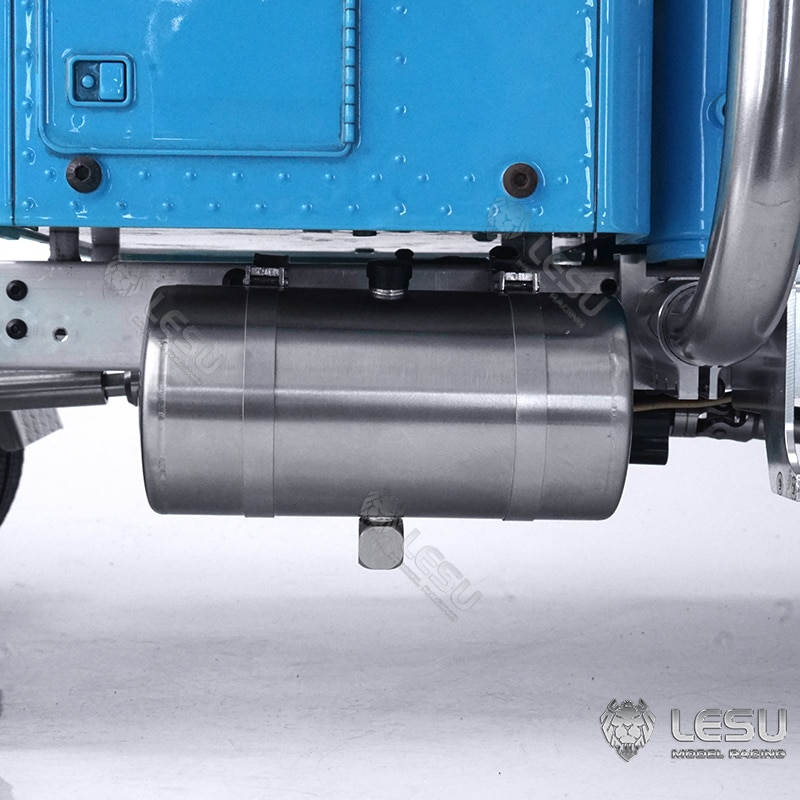 85MM LESU Metal Oil Tank for 1/14 DIY TAMIYA King Hauler GL Remote Control Tractor RC Truck Model TH19235-SMT5 enlarge