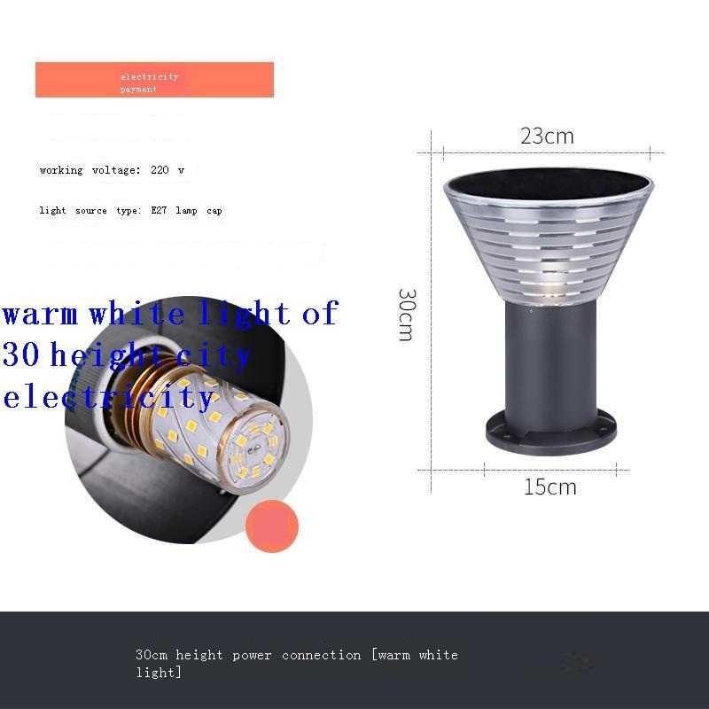 Para Lampe Lumiere Exterieur De Exterior Luce Lamp Tuin Verlichting Lighting Jardin Outdoor Tuinverlichting LED Garden Light enlarge