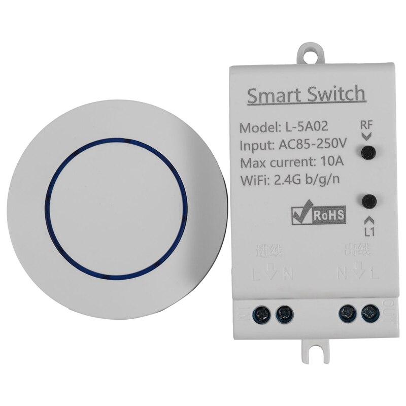 EWeLink Home Smart WiFi RF Wireless Switch Timer Voice APP Remote Control Module Work with Google Home Amazon Alexa