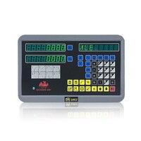 הנמכר ביותר 5u TTL ליניארי בקנה מידה DRO ערכת 2 ציר צג דיגיטלי GCS900-2D עבור מחרטה מיל מכונת EMD GCSHXX