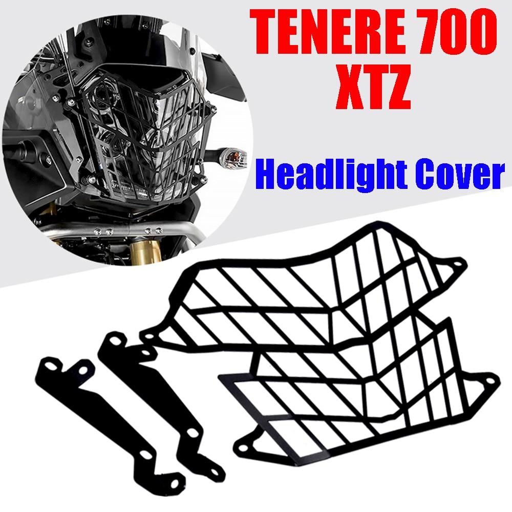 Защитная решетка для мотоциклетной фары, защитная Yamaha Tenere 700 T7 T700 Tenere700, аксессуары