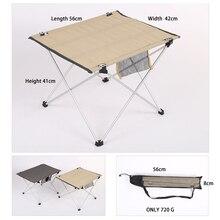 Draagbare Camping Opvouwbare Tafel Tuinmeubilair Computer Bed Tafels Picknick Aluminium Ultra Licht Vouwen Bureau Voor Bbq